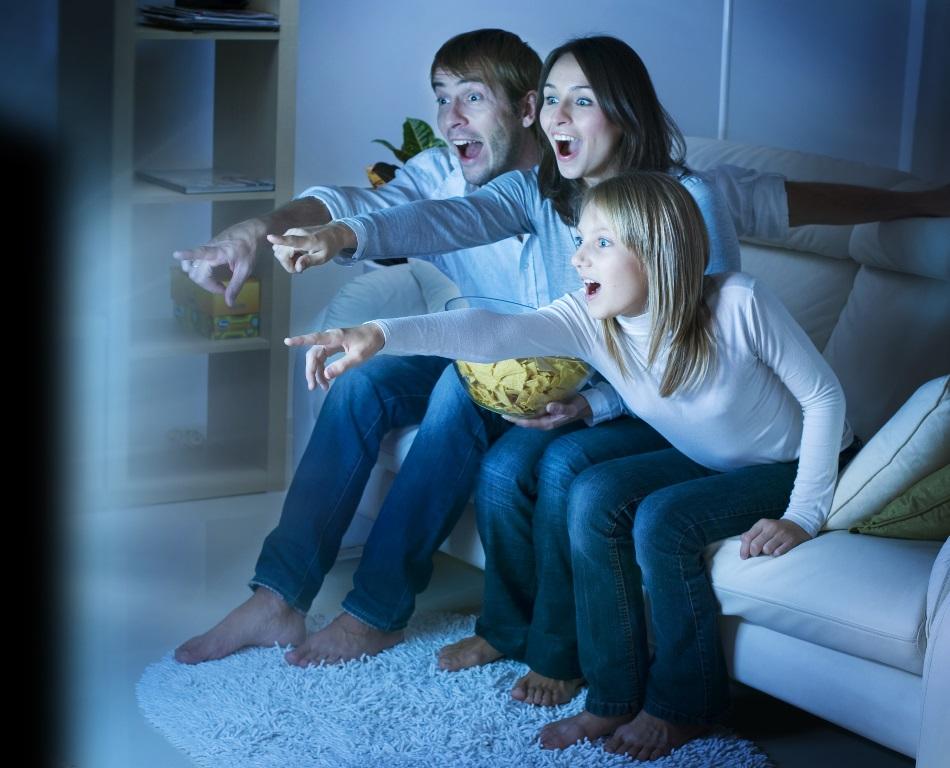 Make Movie night, family entertainment night.