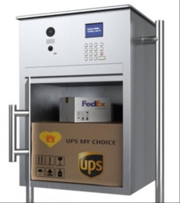Secure Parcel Box Doorbird S New Video Drop Box
